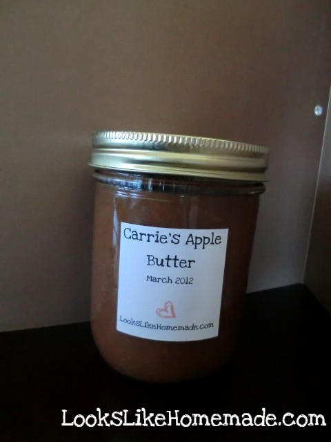 Amazing Apple Butter Recipe