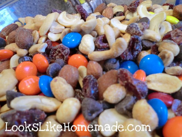 Homemade GORP or Trail Mix
