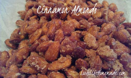 Festival Cinnamon Almonds Recipe
