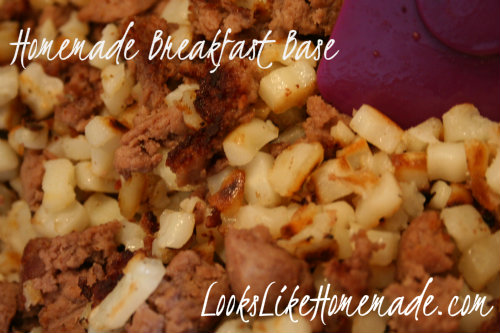 Breakfast Bowls or Breakfast Burritos - Once a Month Cooking