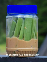 Peanut Butter Celery Road Trip Food