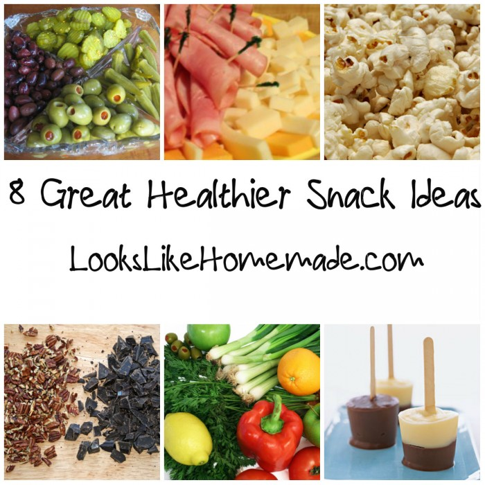 8 great snack ideas you can make at home
