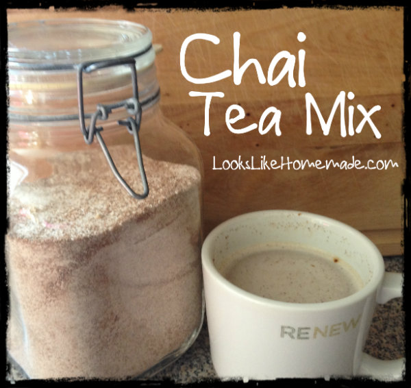 Spiced Chai Tea Mix Recipe