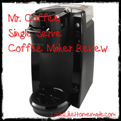 Mr coffee single serve coffee maker review
