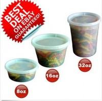 32 oz Plastic Grip Jars for Kitchen Organization