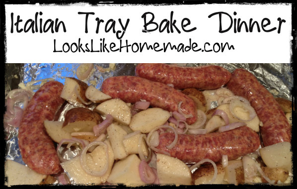 Italian Tray Bake – Carrie Style