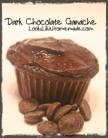 Dark Chocolate Ganache Frosting Recipe