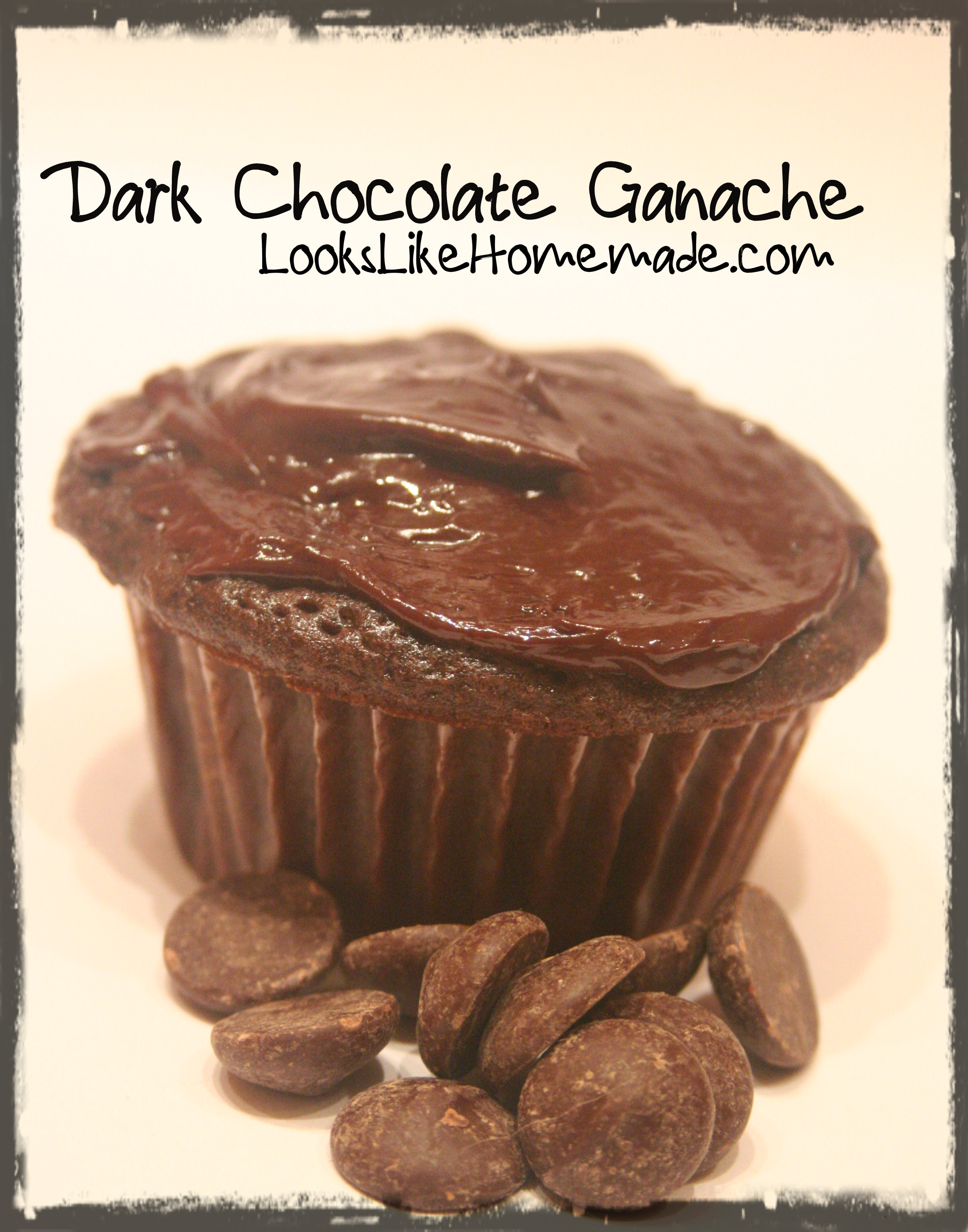 Dark Chocolate Ganache Frosting Recipe