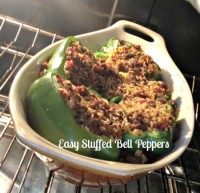 easy stuffed bell peppers recipe
