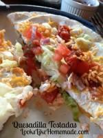 Day 2 Dinner – Cheese & Chicken Enchiladas