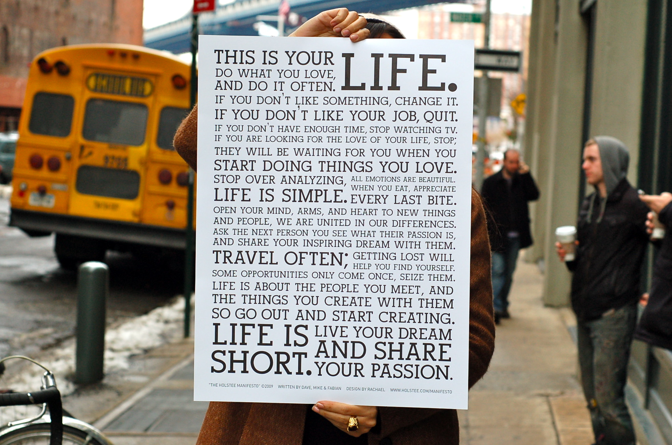 This is your life……..
