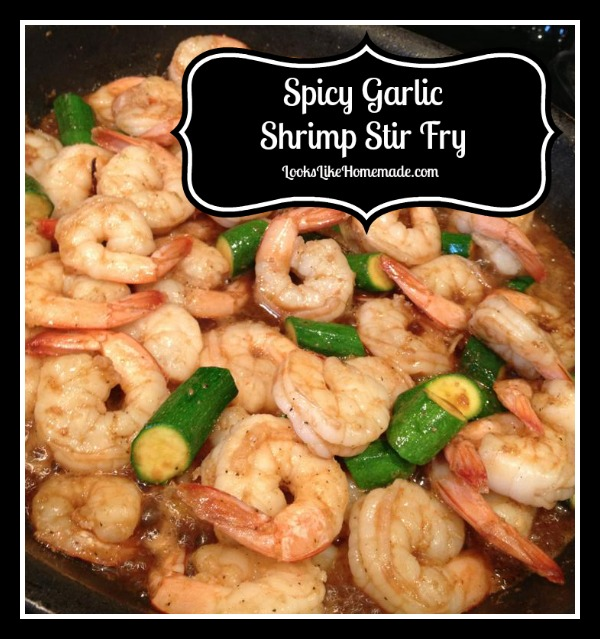 Spicy Garlic Shrimp Stir Fry Recipe