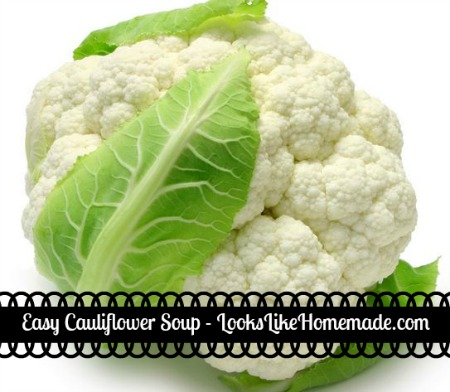 Easy Cauliflower Soup