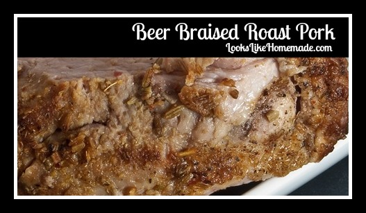Beer Braised Pork Roast
