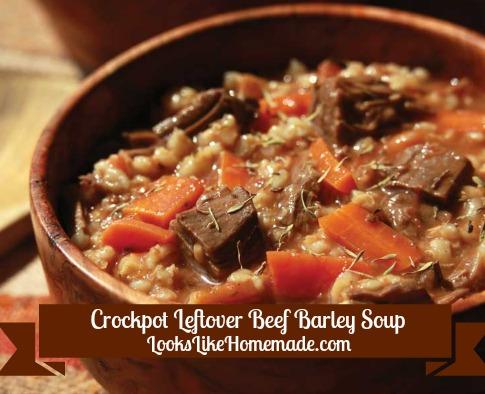 Leftover Roast Beef Barley Soup
