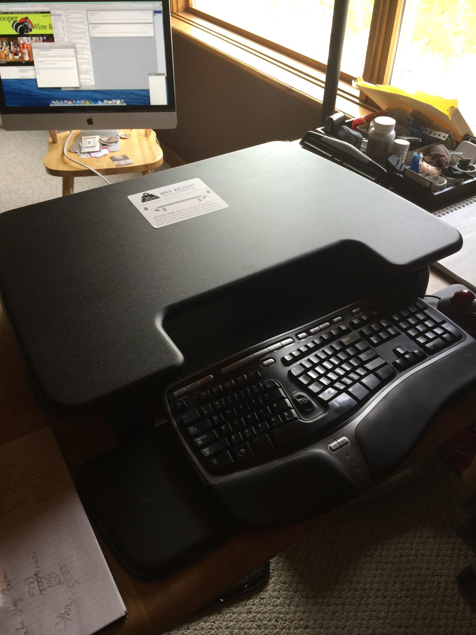 VariDesk Reviews – Sit to Stand Desk System