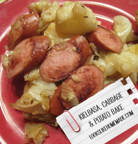 Roasted Kielbasa & Potatoes