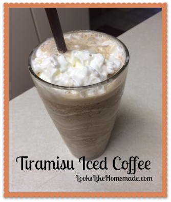 Tiramisu Iced Coffee