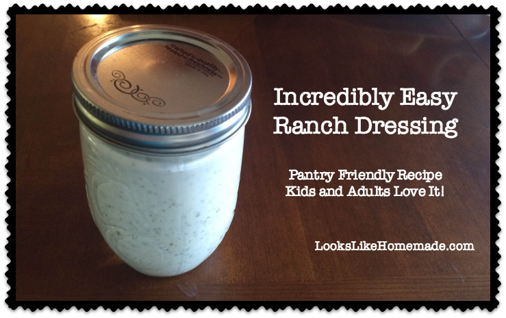 Fast & Simple Easy Ranch Dressing Recipe