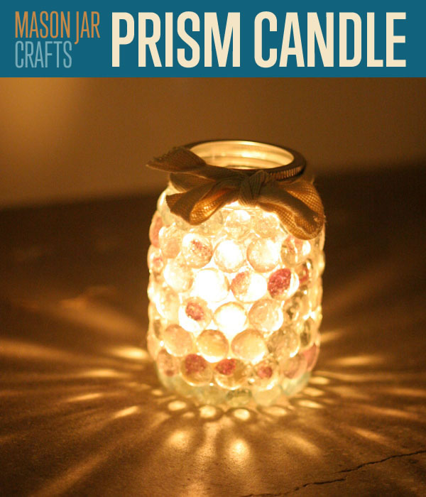 Day 16 – Mason Jar Prism Light