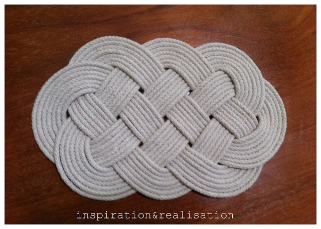25 Days of Christmas Gifts – DIY Celtic Knot Cord Trivet – Day 1
