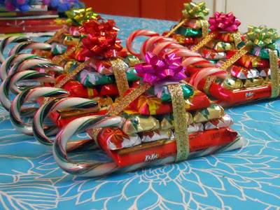 Day 2: Candy Christmas Sleighs