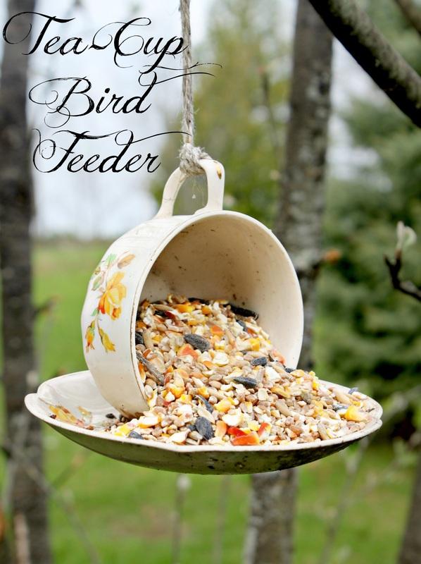 Day 19 – Teacup Bird Feeder