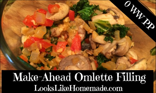 Make Ahead Omelette Filling