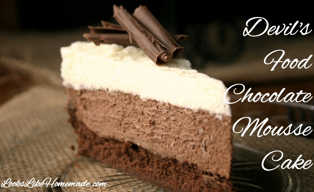 Devils Food Chocolate Mousse Cake