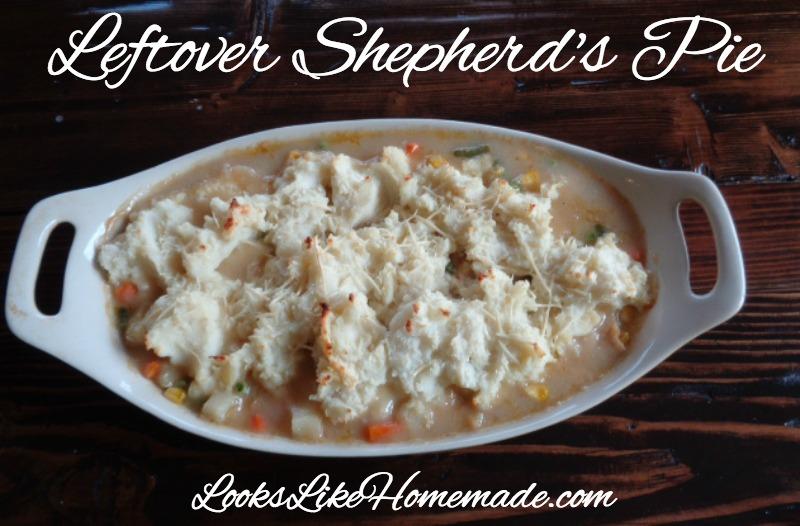 Leftover Shepherd's Pie