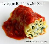 lasagne roll ups kale