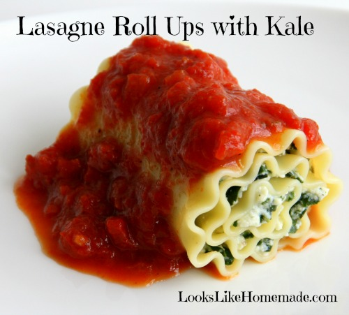 Lasagne Roll Ups Recipe