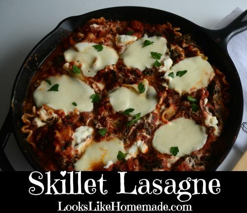 Easy Skillet Lasagne