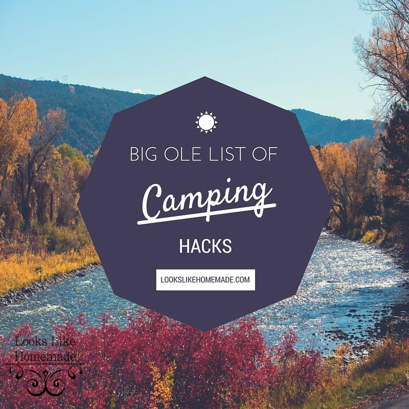 A Big Ole List of Camping Hacks