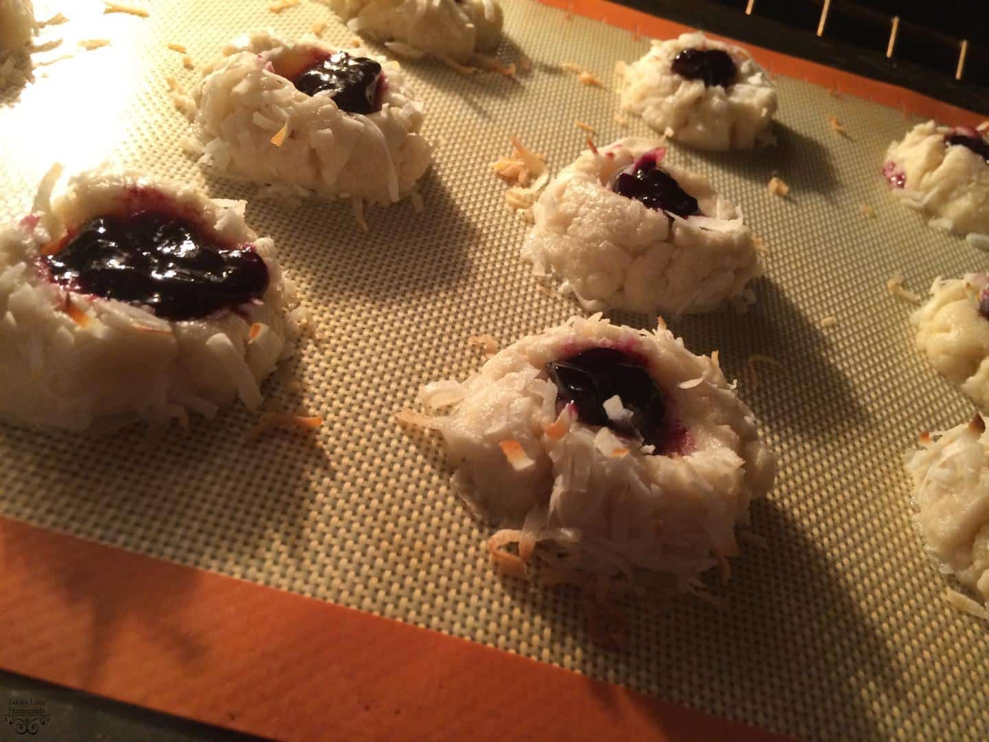 Thumbprint Cookies – Coconut Style
