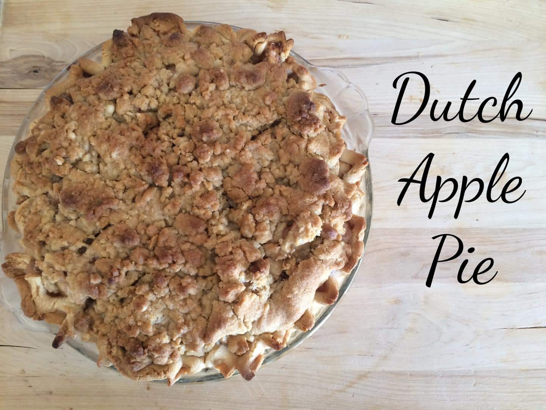 Incredible Dutch Apple Pie Recipe