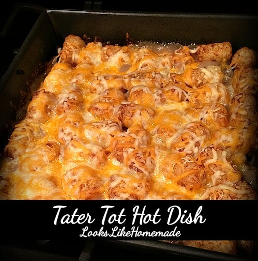 tater tot hot dish recipe