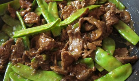 beef with snow peas recipe