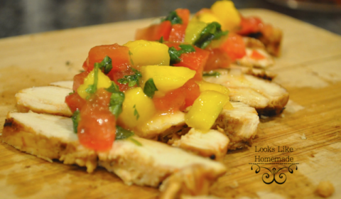grilled chicken mango salsa recipesmall