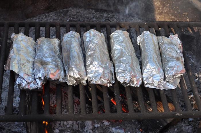 Chorizo, Potato & Green Chile Breakfast Burritos