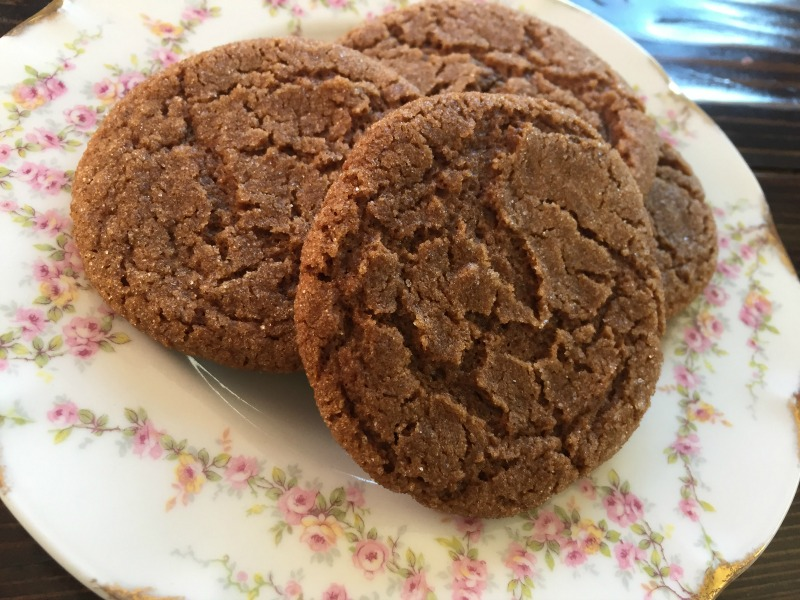 Chewy & Spicy Ginger Cookies