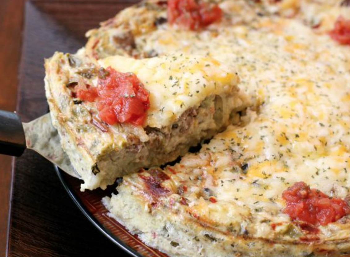 Southwestern Breakfast Casserole - Looks Like Homemade