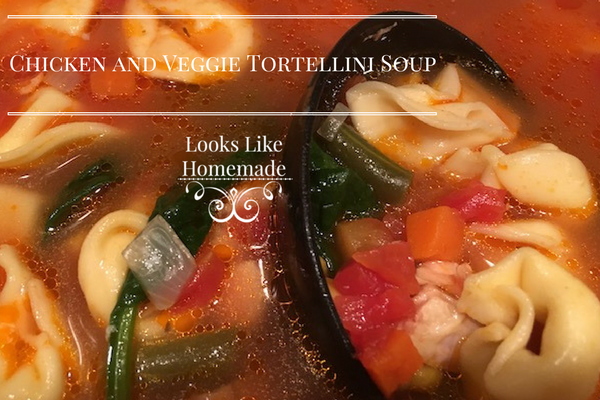 Odds & Ends: Chicken and Veggie Tortellini Soup