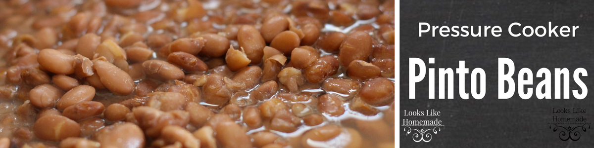 Instant Pot Pinto Beans Recipe (Charro Style)