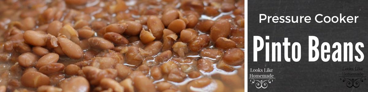 Instant Pot Pinto Beans Recipe (Charro Style)